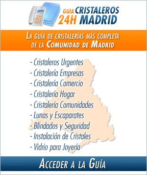 Guía cristaleros 24h Madrid